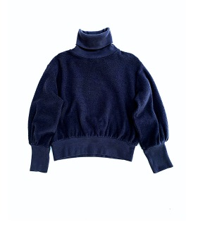 Terry Colsweater #20207  - Navy