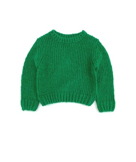 Rough Sweater #20208 - Green ★ONLY 10Y★