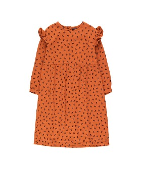 """Tiny Flowers"" Dress - Sienna/Navy ★ONLY 4Y★"