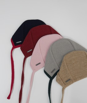 Wool Bonnet - 5 colors