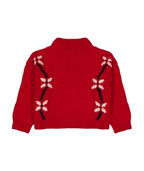 Mousse Sweater - Thetis red