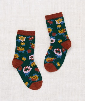 Brimfield Crew Socks - Laurel ★ONLY 24/27★