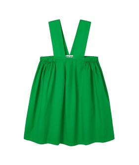 MS072 Pinafore Dress - Fern Green  - 2차