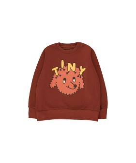 """Tiny Dog"" Sweatshirt - Dark Brown/Sienna ★ONLY 10Y★"
