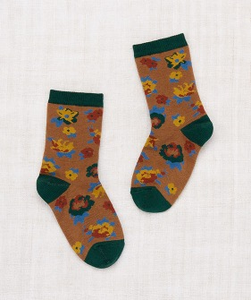 Brimfield Crew Socks - Bronze