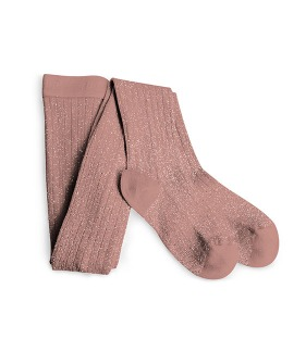 [3차] Amelie Soft Glittery Tights - #723 Bois De Rose