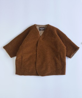 Lupo'S Kimono Coat - Orange Brown ★ONLY 8-9Y★