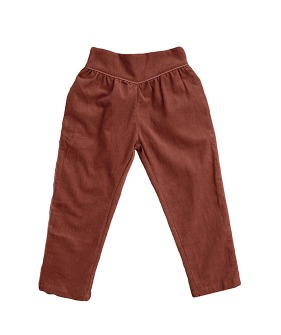Aria Trousers - Clay Corduroy