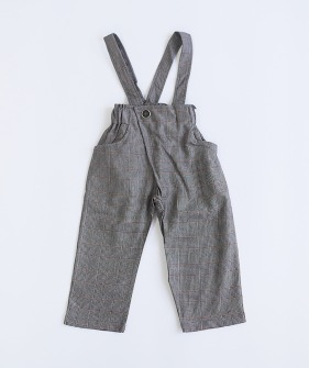 Dalston Trousers - Black Check ★ONLY 2-3Y★