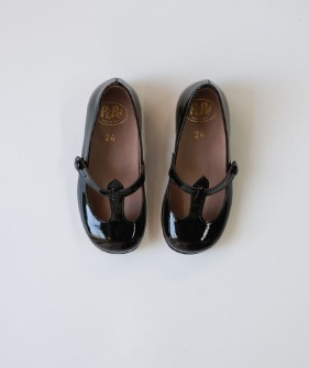 Pepe Shoes - #1195 Vernice Nero