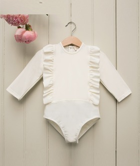Olympe Body Volant - Ivory ★ONLY 5-6Y★