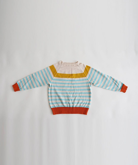 Striped Sweaters  - Blue