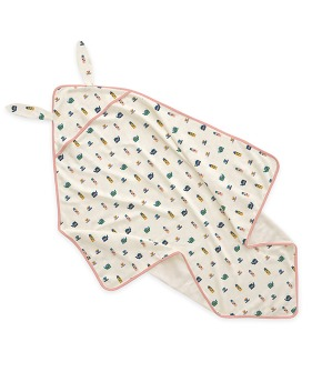 Bunny Blanket - Gardenia Tea Party