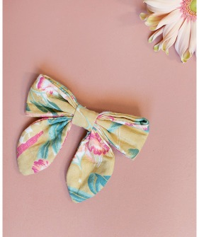 ◆2Drop◆ Gila Hair Clip - Soft Honey Parrots