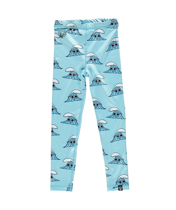 Surf's Up Legging - Light Blue