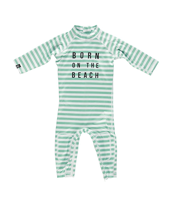 Beach Boy - White/Green
