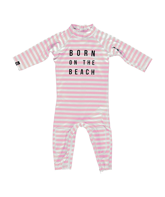 Beach Girl - White/Pink