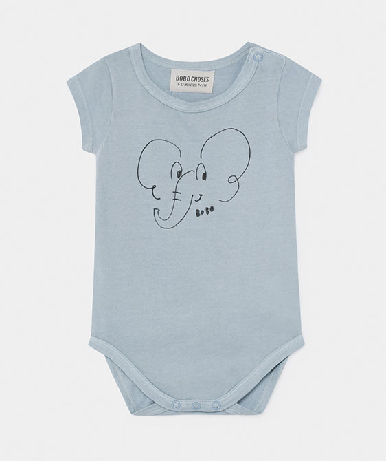 Elephant Short Sleeve Body  (Baby) #00030