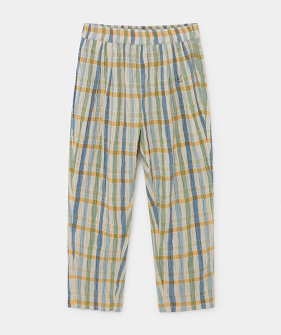Checker Baggy Trousers (Kid) #01092