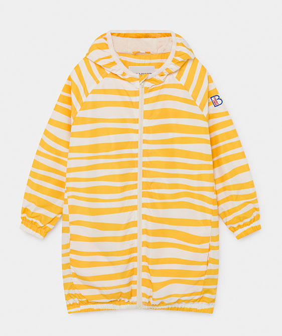 Groovy Stripes Rain Coat (Kid) #01176