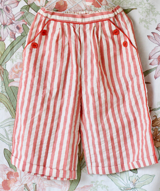 Trouser - Red Stripe ★ONLY 8Y★