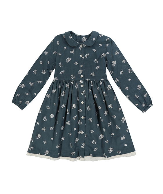 Agatha Dress - Teal ★ONLY 3-4Y★