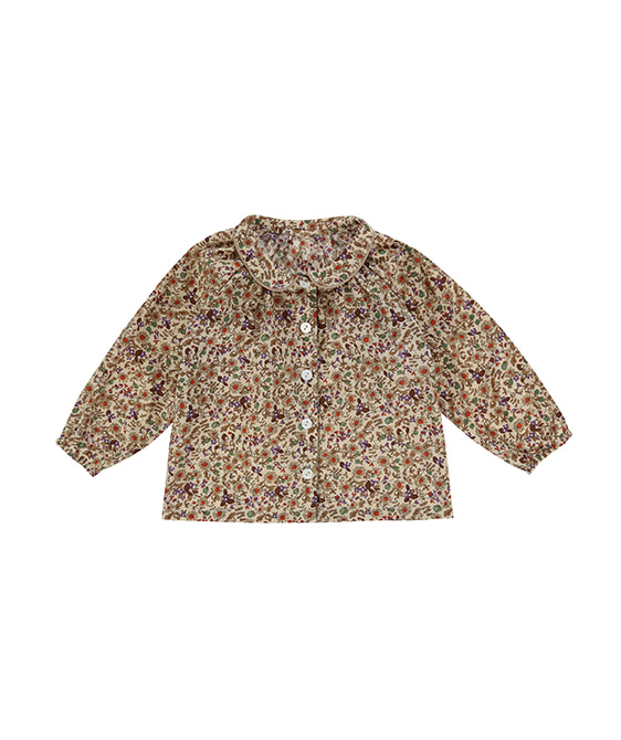 Annie Blouse - Autumnal Floral ★ONLY 2-3Y★