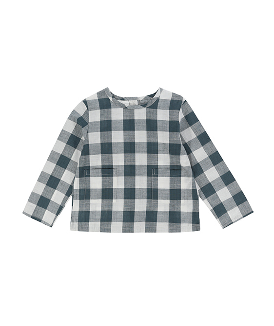 St Ives Shirt - Teal Gingham ★ONLY 4-5Y★