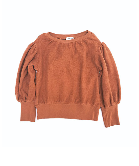 Terry Sweater (438) - Toffee ★ONLY 4Y★