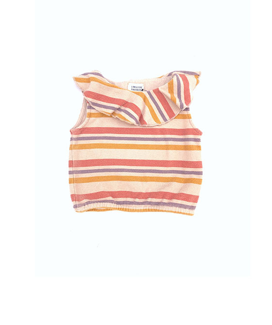 Terry Top (445) - Stripe ★ONLY 4Y★