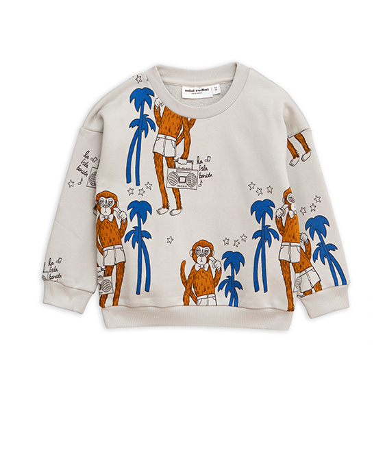 Cool Monkey Aop Sweatshirt - Grey