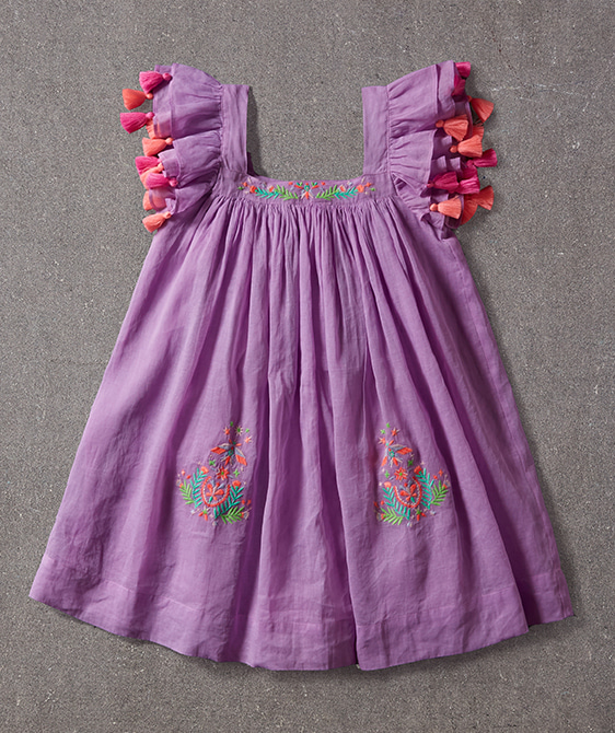 Chloe Dress - Electric Pink ★ONLY 4Y★