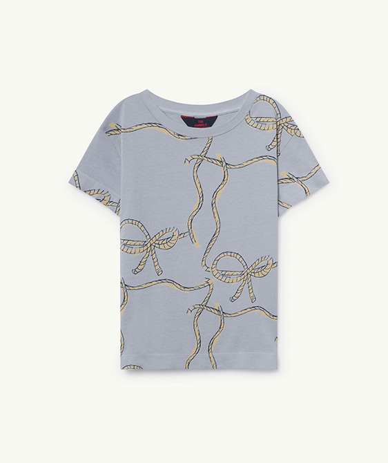 Rooster Kids T-Shirt - Blue Ropes
