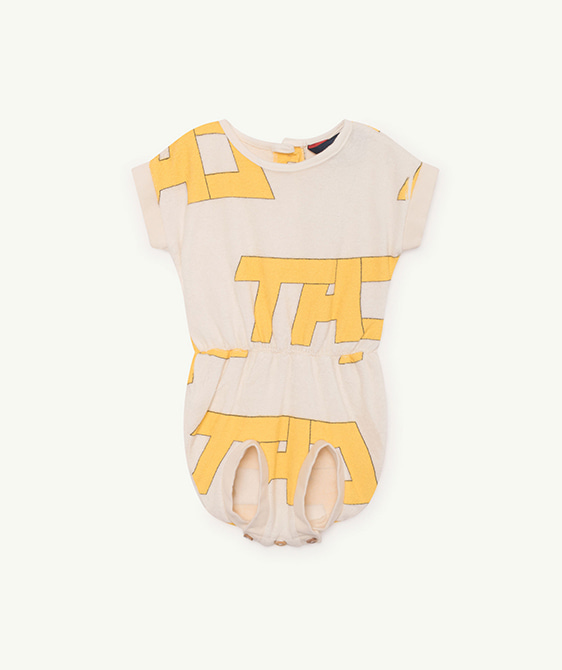 Koala Babies Jumpsuit - Raw White Tao