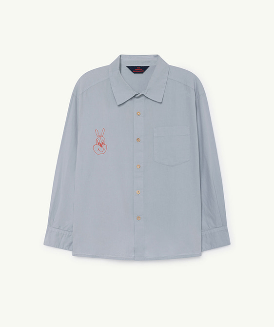 Wolf Kids Shirt - Blue Rabbit