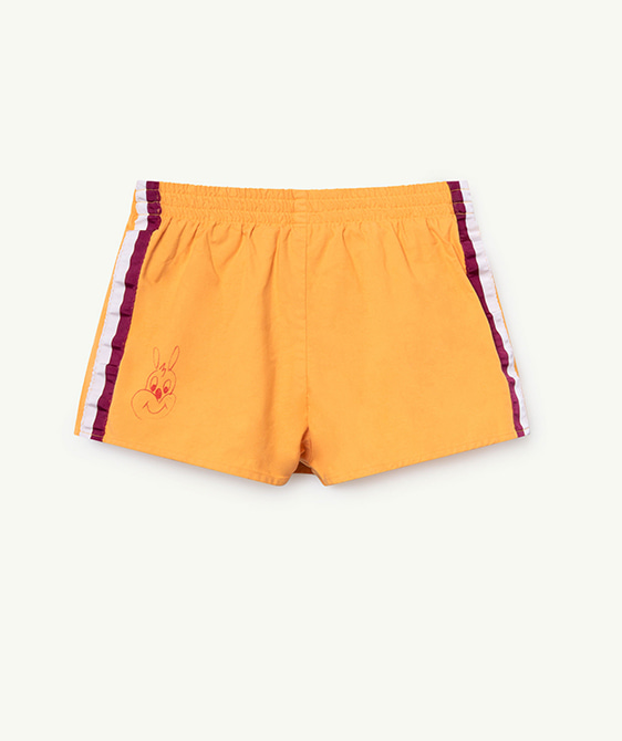 Spider Kids Shorts - Yellow Rabbit
