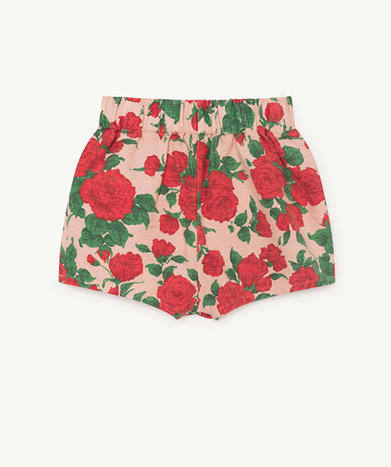 Clam Kids Shorts - Nude Roses