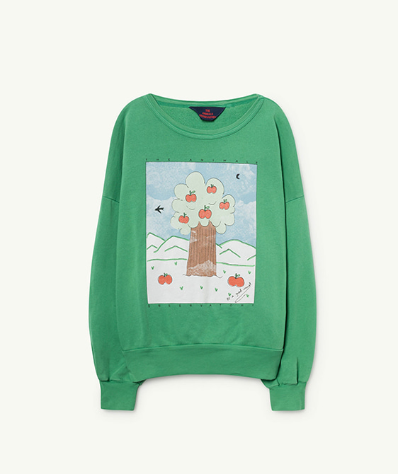 Big Bear Kids Sweatshirt - Green Landscape