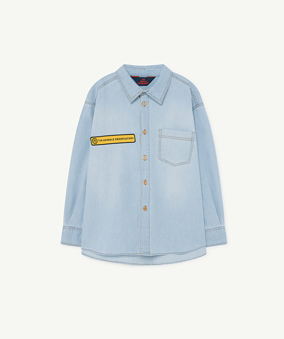 Denim Wolf Kids Shirt - 001169_114_XX ★ONLY 3Y★