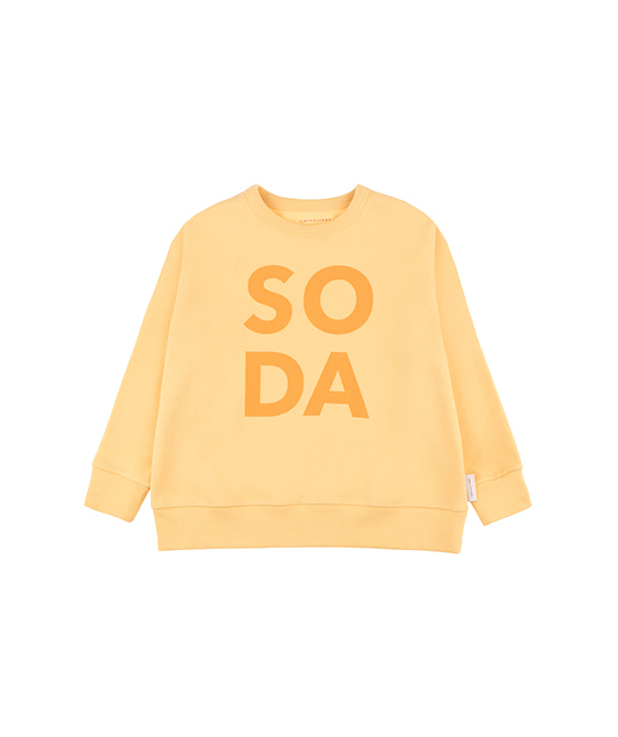 'Soda' Sweatshirt - Canary/Deep Yellow