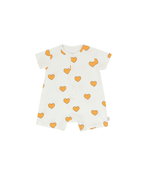 Hearts One Piece - Off-White/Yellow ★ONLY 12M★