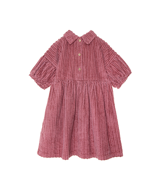 Corduroy Dress - Plum ★ONLY 4Y★