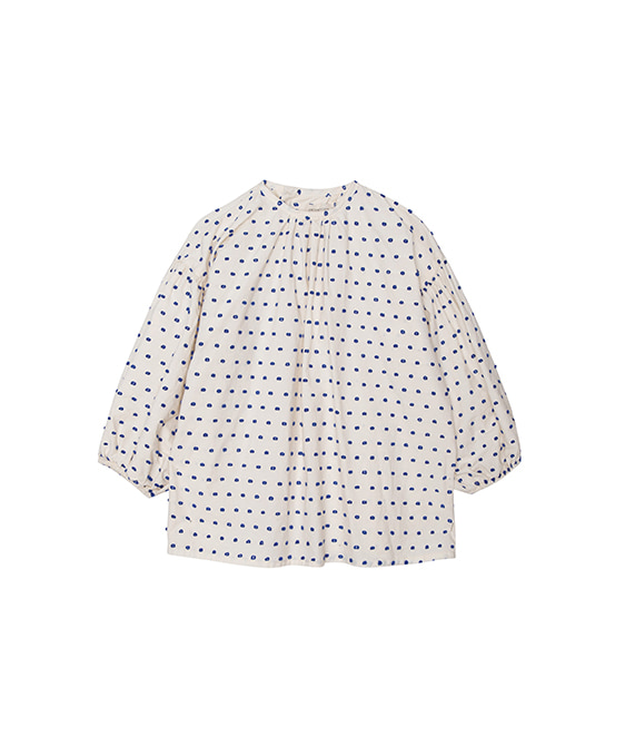 Plumetti Blouse  - Natural