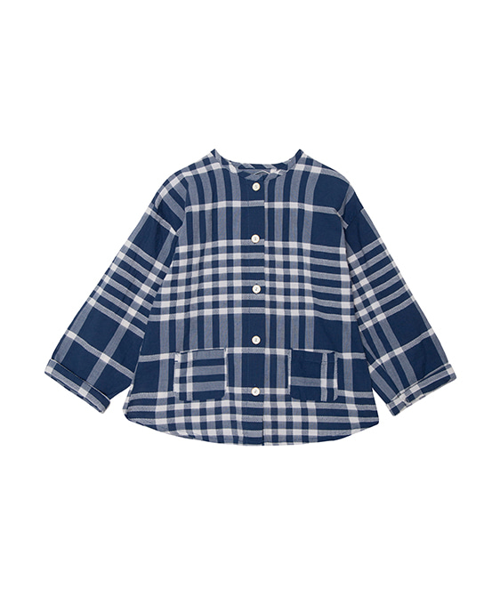 Checks Shirt  - Blue