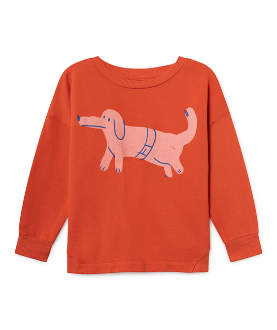 Dog Round Neck Sweatshirt #035