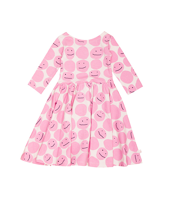 Ballerina Dress - Pink Smiley