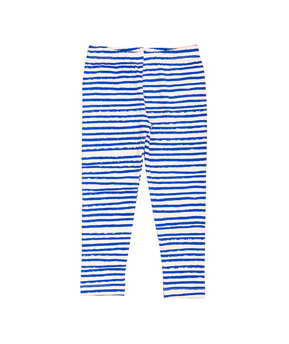 Kids Leggings - Blue Stripes