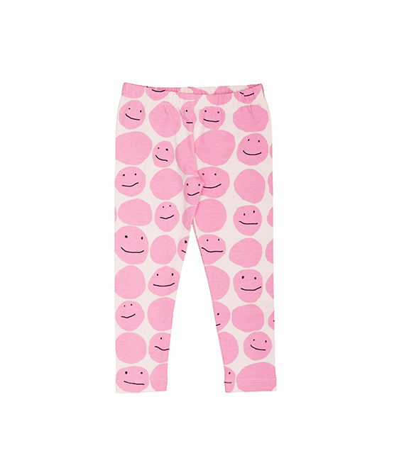 Baby & Kids Leggings - Pink Smiley