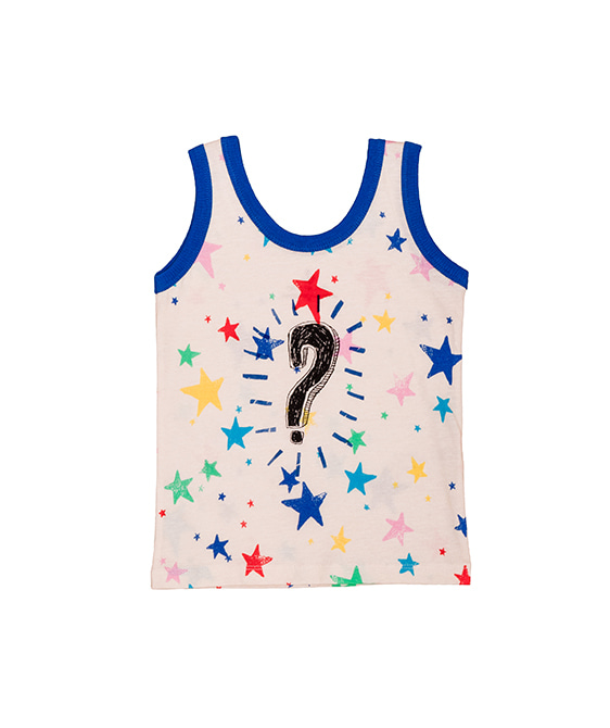 Tank Top - Multi Kulti Stars ★ONLY 2Y★