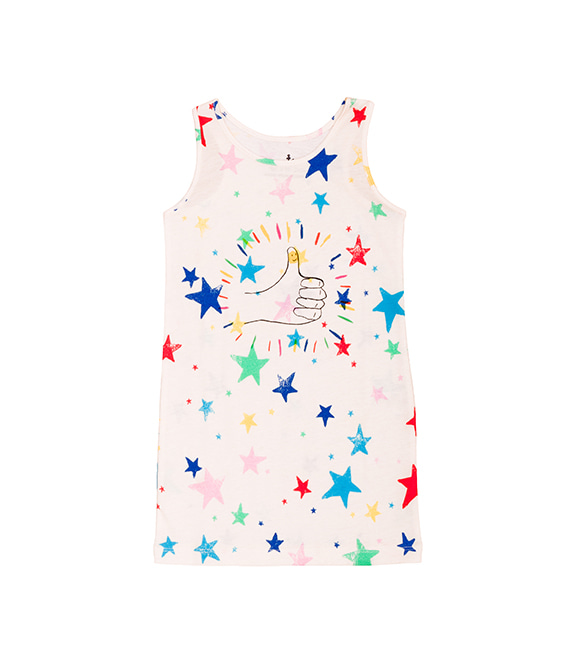 Tank Dress - Multi Kulti Stars ★ONLY 2Y★